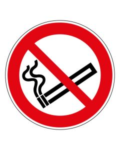 Verbotszeichen Rauchen verboten · ISO 7010 P002
