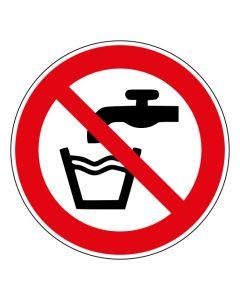 Verbotszeichen Kein Trinkwasser · ISO 7010 P005
