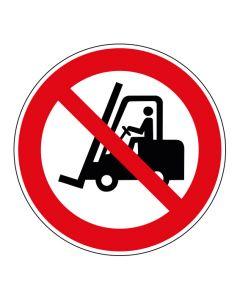 Verbotszeichen Für Flurförderzeuge verboten · ISO 7010 P006
