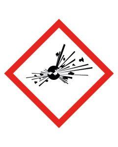 GHS Gefahrensymbol · Aufkleber | Schild | Magnetschild · Bombe, explosive Stoffe