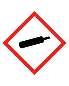 GHS Gefahrensymbol · Aufkleber | Schild | Magnetschild · Gasflasche, unter Druck stehende Gase