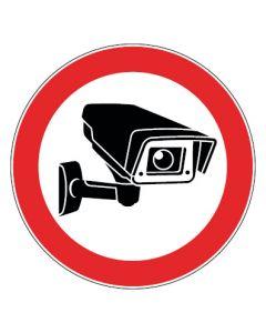 Hinweiszeichen · Aufkleber | Schild | Magnetschild · Videoüberwachung TYP 1