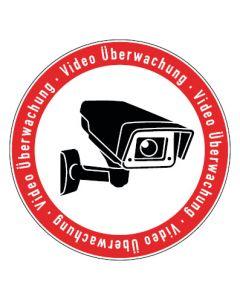 Hinweiszeichen · Aufkleber | Schild | Magnetschild · Videoüberwachung TYP 5