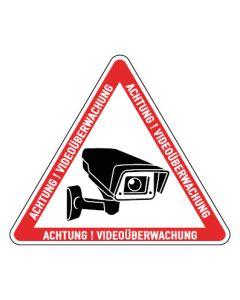 Hinweiszeichen · Aufkleber | Schild | Magnetschild · Videoüberwachung TYP 25