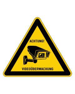 Hinweiszeichen · Aufkleber | Schild | Magnetschild · Videoüberwachung TYP 33