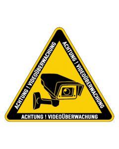 Hinweiszeichen · Aufkleber | Schild | Magnetschild · Videoüberwachung TYP 35