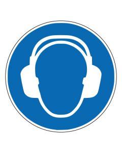Gebotszeichen Gehörschutz benutzen · ISO 7010 M003