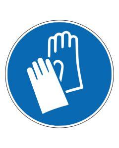 Gebotszeichen Handschutz benutzen · ISO 7010 M009