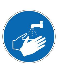 Gebotszeichen Hände waschen · ISO 7010 M011