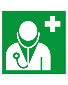 Rettungszeichen · Aufkleber | Schild | Magnetschild · Arzt, ärztliche Hilfe