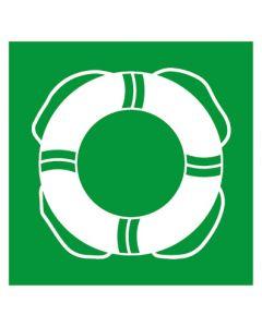 Rettungszeichen · Aufkleber | Schild | Magnetschild · Rettungsring, Schwimmring