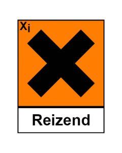 Gefahrstoffzeichen · Aufkleber | Schild | Magnetschild · reizend Hazard_X (Piktogramm+Text)