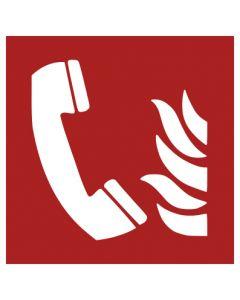 Brandschutzzeichen · Aufkleber | Schild | Magnetschild · Brandmeldetelefon