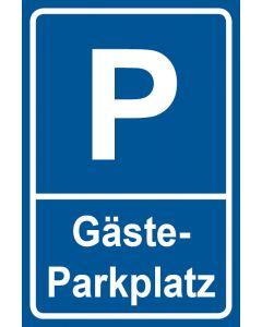 Parkschild Gästeparkplatz · Aufkleber | Schild | Magnetschild