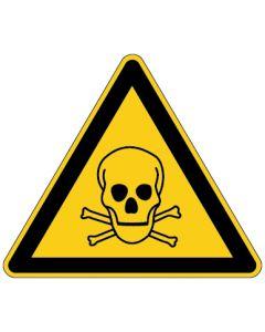 Warnzeichen · Aufkleber | Schild | Magnetschild | Fußbodenaufkleber · Warnung vor giftigen Stoffen