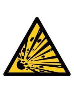 Warnzeichen Warnung vor explosionsgefährlichen Stoffen · ISO 7010 W002