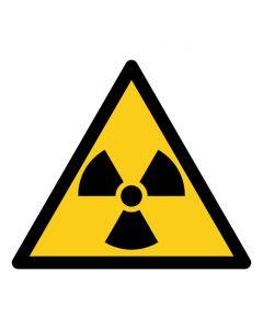 Warnzeichen Warnung vor radioaktiven Stoffen oder ionisierenden Strahlen · ISO 7010 W003
