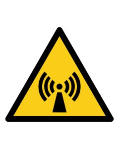 Warnzeichen Warnung vor nicht ionisierender Strahlung · ISO 7010 W005