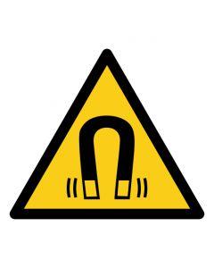 Warnzeichen Warnung vor magnetischem Feld · ISO 7010 W006