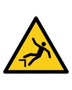Warnzeichen Warnung vor Absturzgefahr · ISO 7010 W008