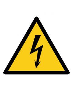 Warnzeichen Warnung vor elektrischer Spannung · ISO 7010 W012