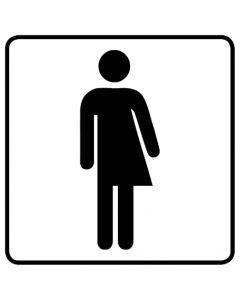 WC Toiletten Kennzeichnung | Transgender · weiß