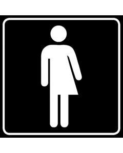 WC Toiletten Kennzeichnung | Transgender · schwarz