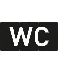 PVC Plane WC | schwarz