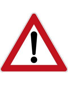 Verkehrszeichen Gefahrzeichen Gefahrstelle · Zeichen 101  | Aufkleber · Schild · Magnetschild