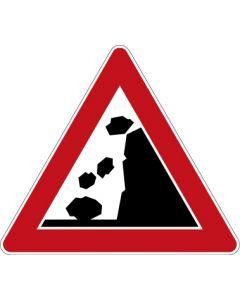 Verkehrszeichen Gefahrzeichen Steinschlag · Zeichen 101-15  | Aufkleber · Schild · Magnetschild
