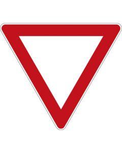 Verkehrszeichen Vorschriftzeichen Vorfahrt gewähren! · Zeichen 205  | Aufkleber · Schild · Magnetschild