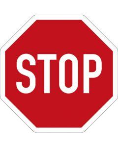Verkehrszeichen Vorschriftzeichen Halt! Vorfahrt gewähren! · Zeichen 206  | Aufkleber · Schild · Magnetschild