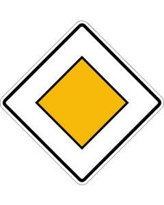 Verkehrszeichen Richtzeichen Vorfahrtstraße · Zeichen 306  | Aufkleber · Schild · Magnetschild