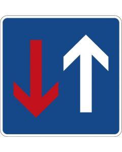 Verkehrszeichen Richtzeichen Vorrang vor dem Gegenverkehr · Zeichen 308  | Aufkleber · Schild · Magnetschild
