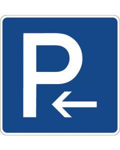 Verkehrszeichen Richtzeichen Parkplatz (Anfang) · Zeichen 314-10  | Aufkleber · Schild · Magnetschild