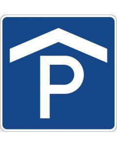 Verkehrszeichen Richtzeichen Parkhaus, Parkgarage · Zeichen 314-50  | Aufkleber · Schild · Magnetschild