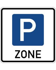 Verkehrszeichen Richtzeichen Beginn einer Parkraumbewirtschaftungszone · Zeichen 314.1  | Aufkleber · Schild · Magnetschild