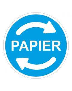 Recycling Wertstoff Mülltrennung Symbol Papier