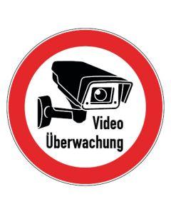 Hinweiszeichen · Aufkleber | Schild | Magnetschild · Videoüberwachung TYP 3