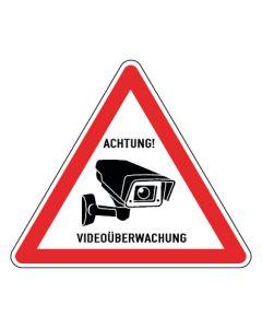 Hinweiszeichen · Aufkleber | Schild | Magnetschild · Videoüberwachung TYP 23