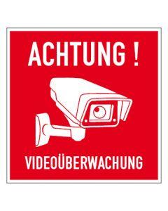 Hinweiszeichen · Aufkleber | Schild | Magnetschild · Videoüberwachung TYP 45