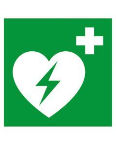 Rettungszeichen · Aufkleber | Schild | Magnetschild · Defibrillator