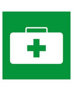 Rettungszeichen · Aufkleber | Schild | Magnetschild · Notfallkoffer, Sanitätskoffer