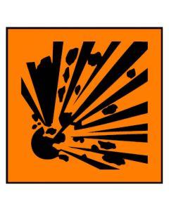 Gefahrstoffzeichen · Aufkleber | Schild · explosionsgefährlich Hazard_E