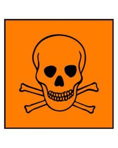Gefahrstoffzeichen · Aufkleber | Schild · sehr giftig Hazard_T