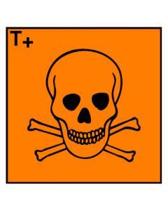 Gefahrstoffzeichen · Aufkleber | Schild | Magnetschild · sehr giftig Hazard_T