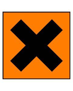Gefahrstoffzeichen · Aufkleber | Schild · reizend Hazard_x