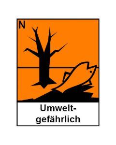 Gefahrstoffzeichen · Aufkleber | Schild | Magnetschild · umweltgefährlich Hazard_N (Piktogramm+Text)