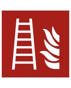 Brandschutzzeichen · Aufkleber | Schild | Magnetschild · Feuerleiter