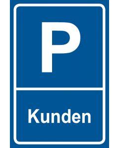 Parkschild Kunden · Aufkleber | Schild | Magnetschild
